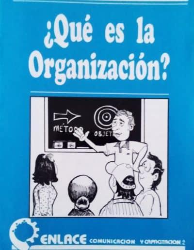 ¿que es la organización?