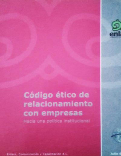 Código ético de relacionamiento con empresas