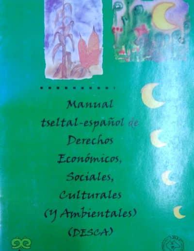 Manual tseltal español de derechos económicos