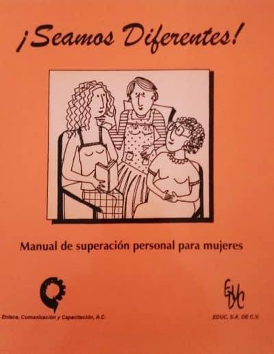 Seamos diferentes manual de superación personal para mujeres